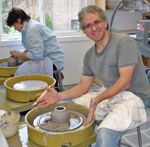 courses in pottery
