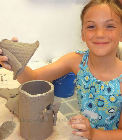 working with clay - summer camps session idea, Stamford CT