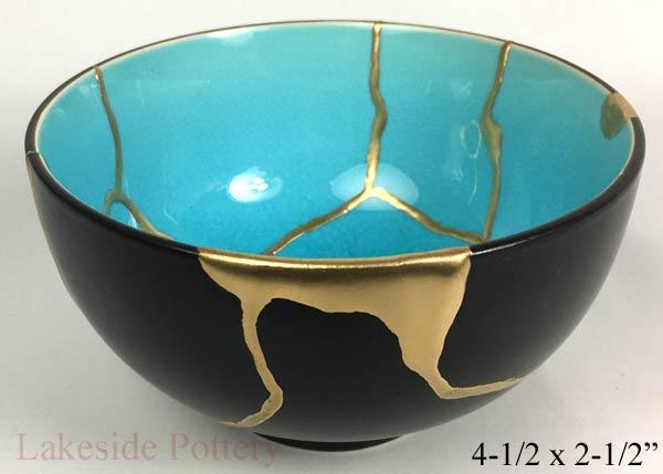 Porcelain kintsugi bowl Gold repair Kintsugi Kintsugi bowl