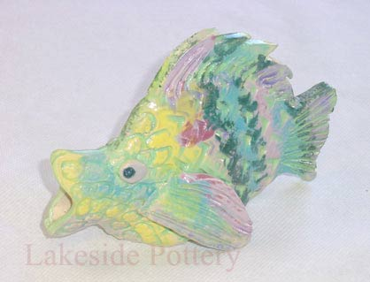 clay fish project for kids