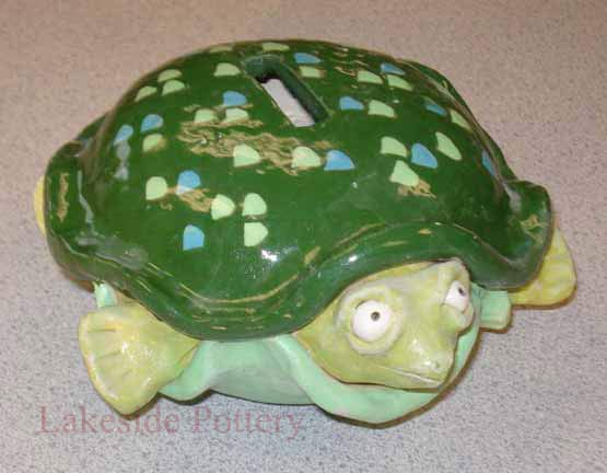 Clay turtle bank