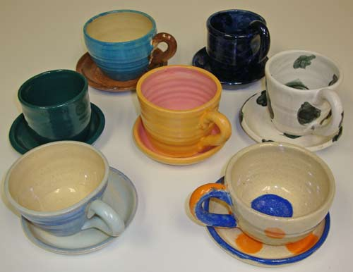 pottery cups - kids project