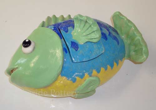 clay fish box projects