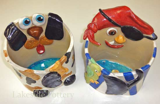 pirot hug clay box - stamford summer camp project