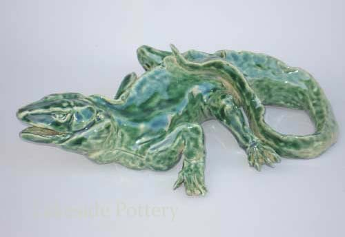 lizzard pottery and clay project idea