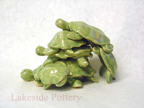 turtle clay project idea