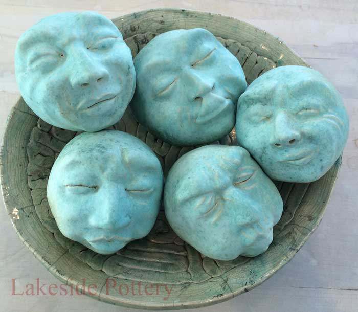 clay face sculpting easy project
