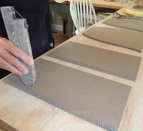 How To Make Large Clay Slab Construction Project Without
