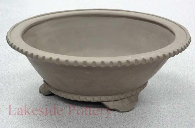 Large Round Ceramic Planter Zef Jam