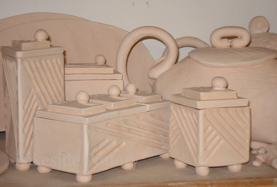 clay boxes ideas