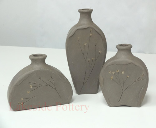 Organic ceramic bottles for Clay pottery ideas