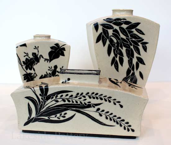 sgraffito clay projects design ideas