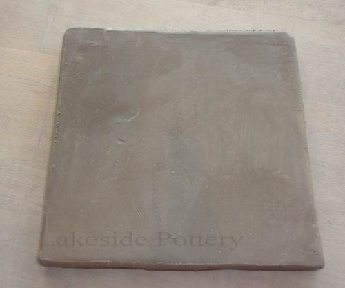 clay tile leather hard