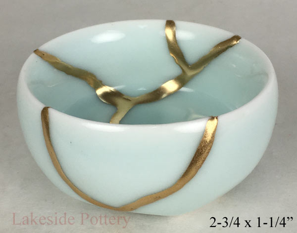 Kintsugi Turquoise Japanese cup