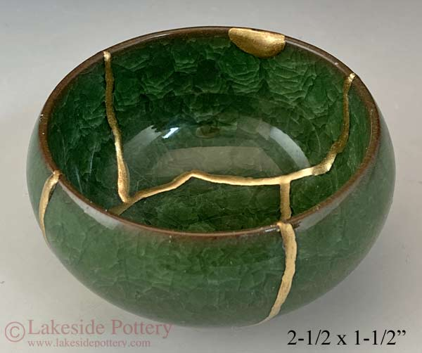 Small green Japanese bowl