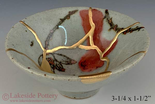 Japanese Kintsugi bowl