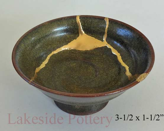 dating japanese vase repaired with gold