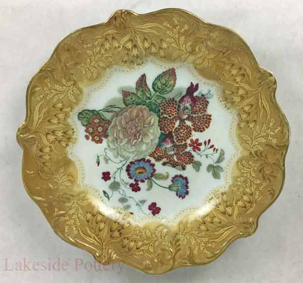 Antique plate restored