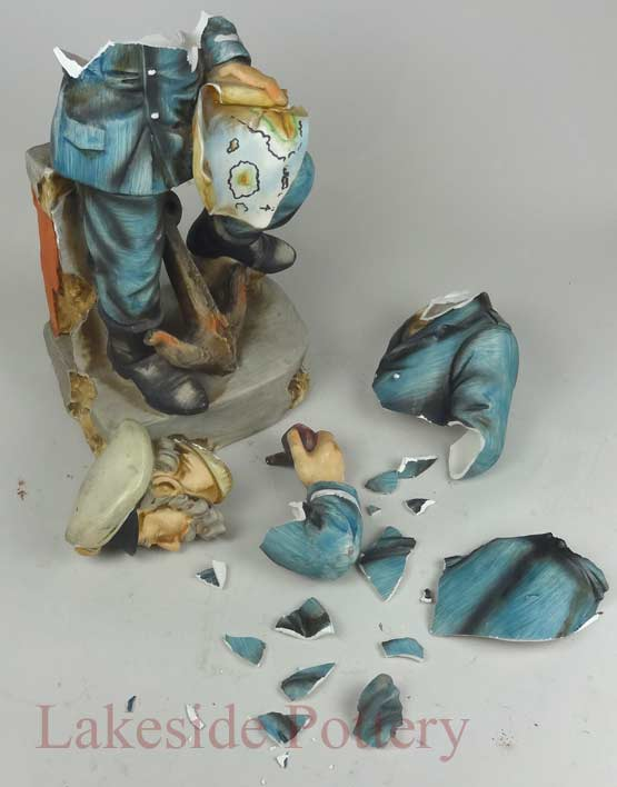 Repair And Restoration Of Ceramic Pottery And Sculpture