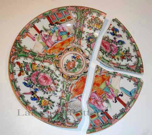 Broken Ceramic Plate Repair Demo  How and Where to Repair